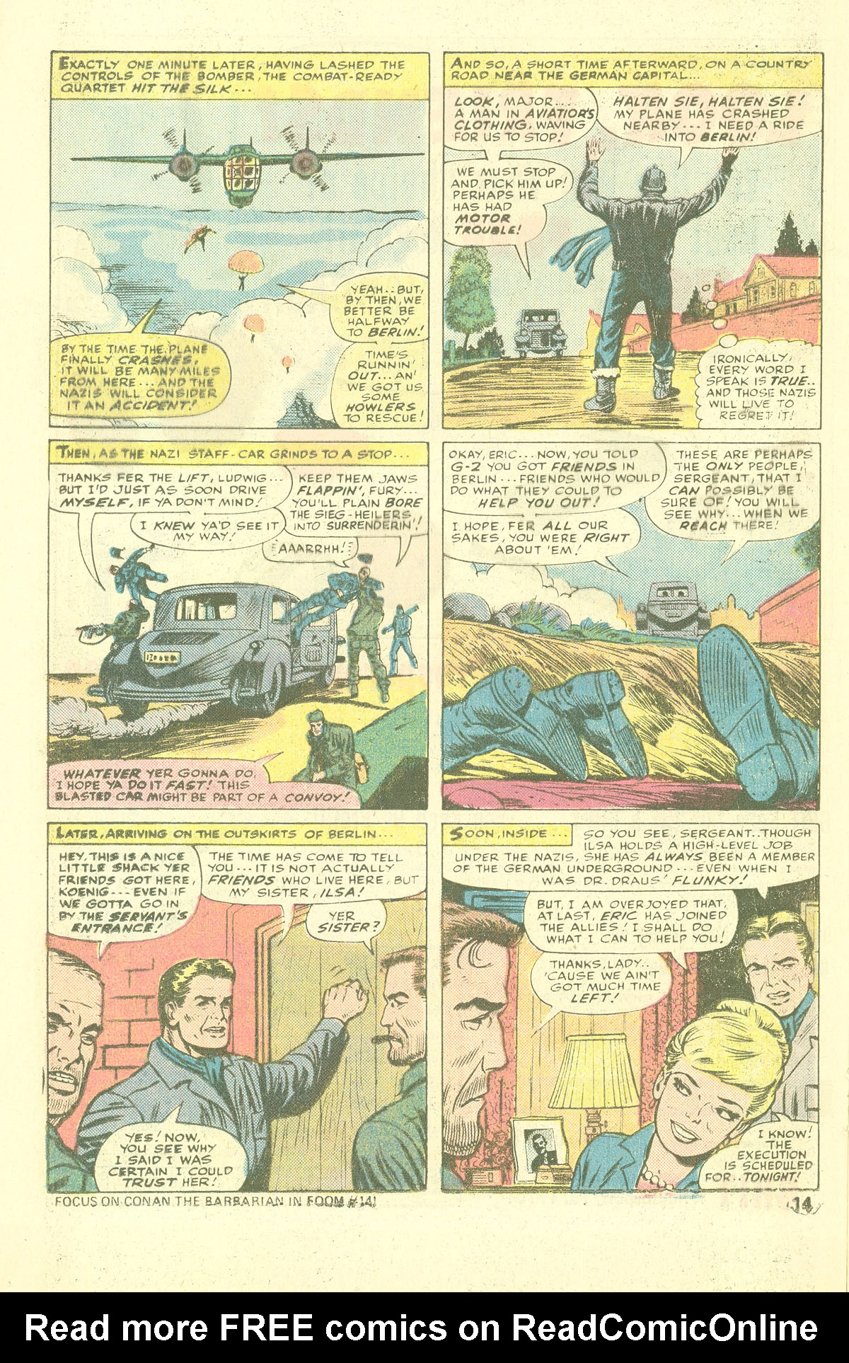 Read online Sgt. Fury comic -  Issue #137 - 16
