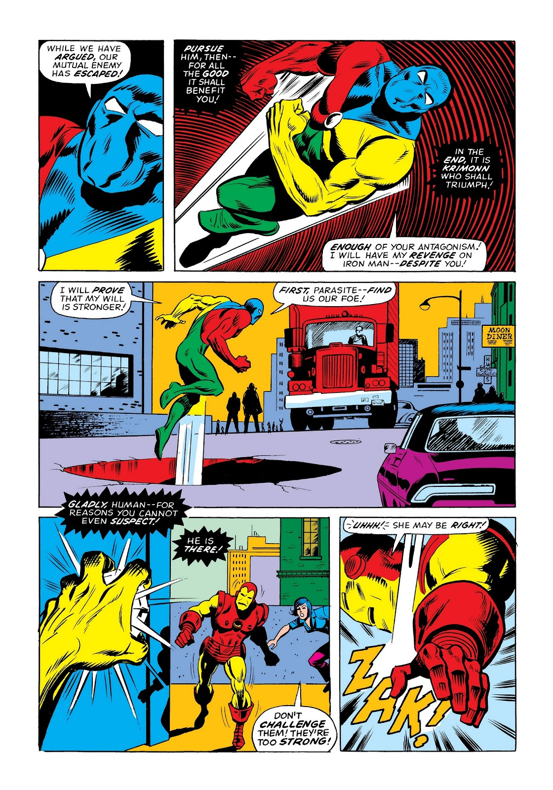 Read online Marvel Masterworks: The Invincible Iron Man comic -  Issue # TPB 9 (Part 3) - 49