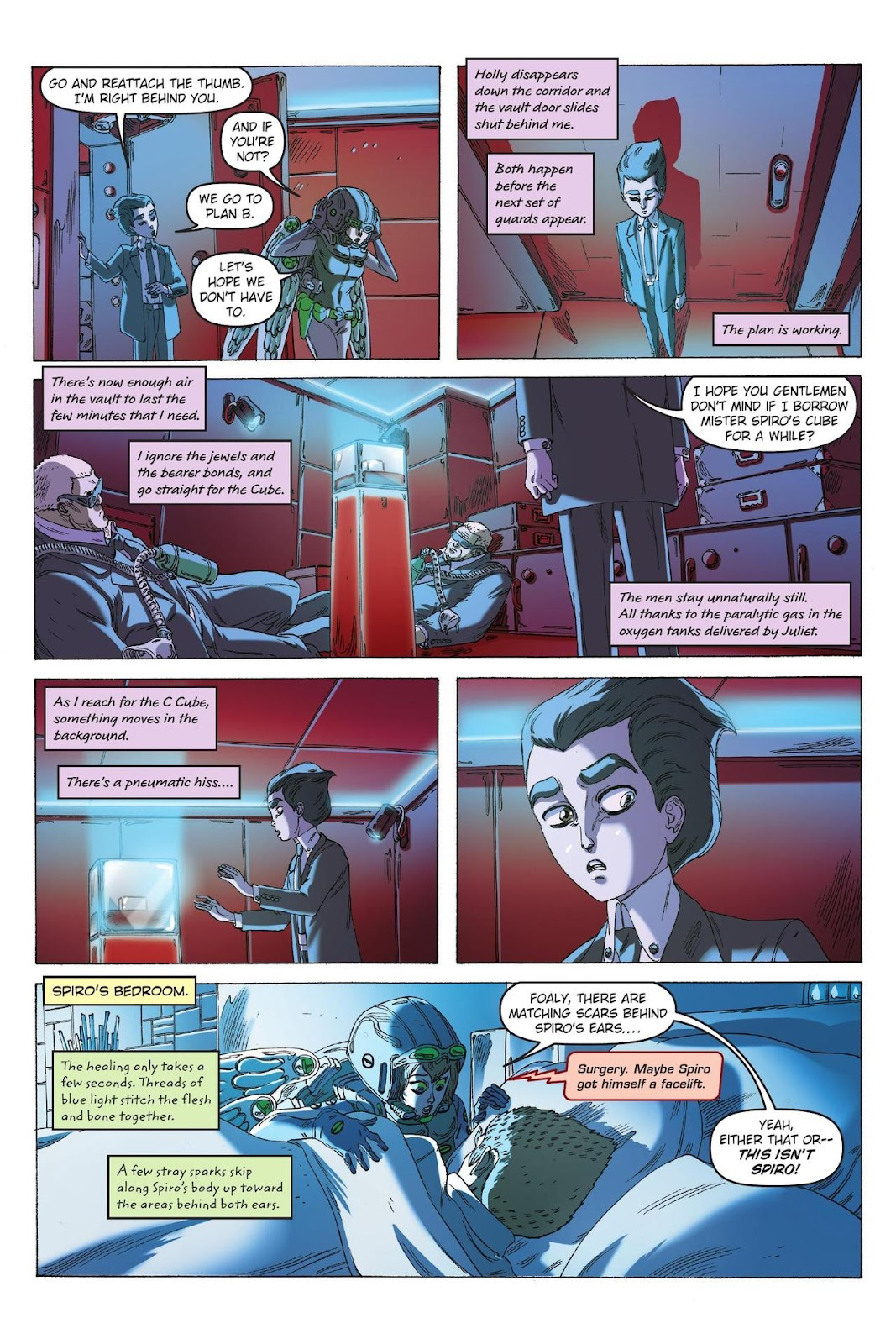 Artemis Fowl: The Eternity Code issue TPB - Page 92