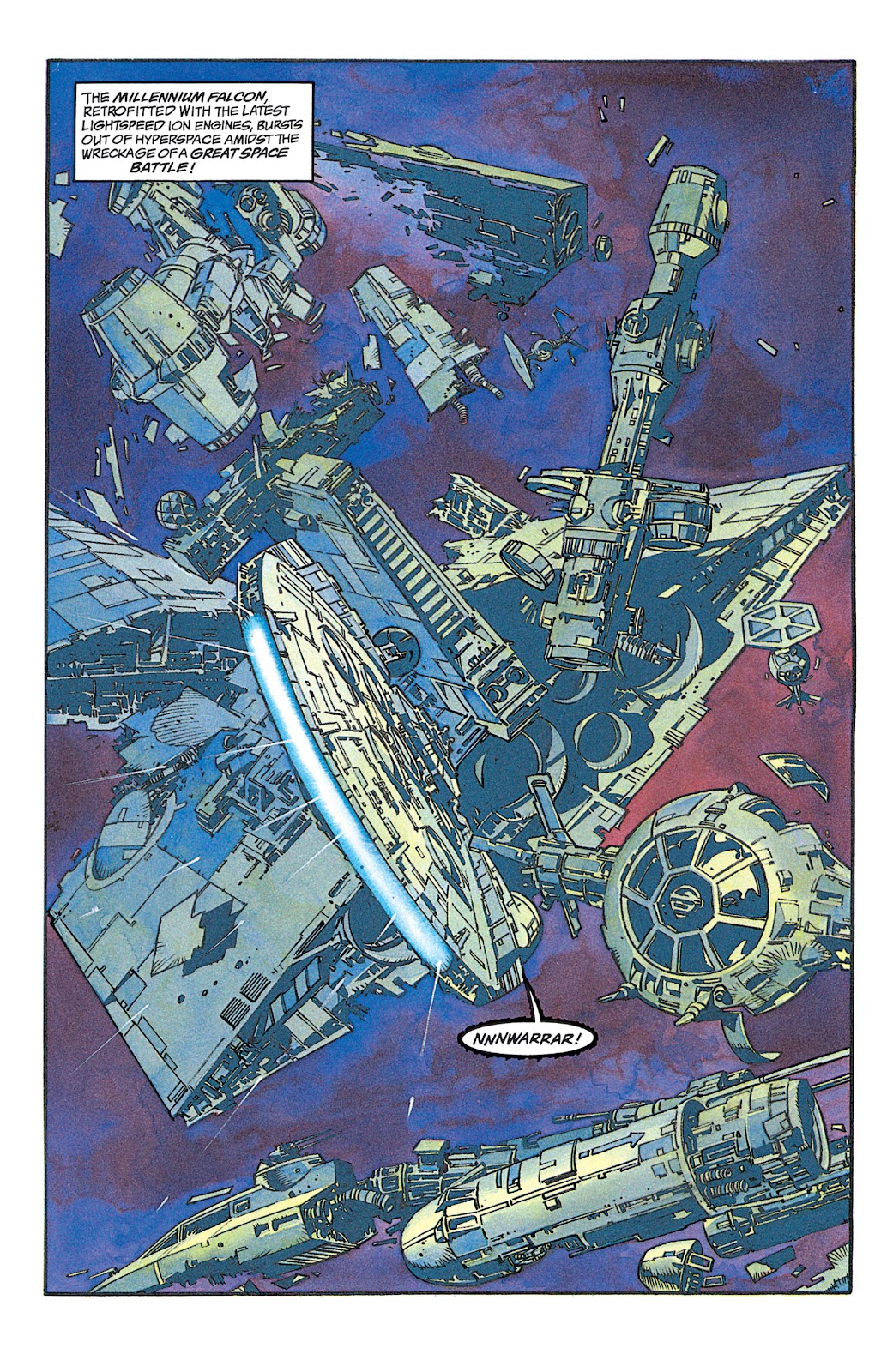 Read online Star Wars: Dark Empire Trilogy comic -  Issue # TPB (Part 1) - 8