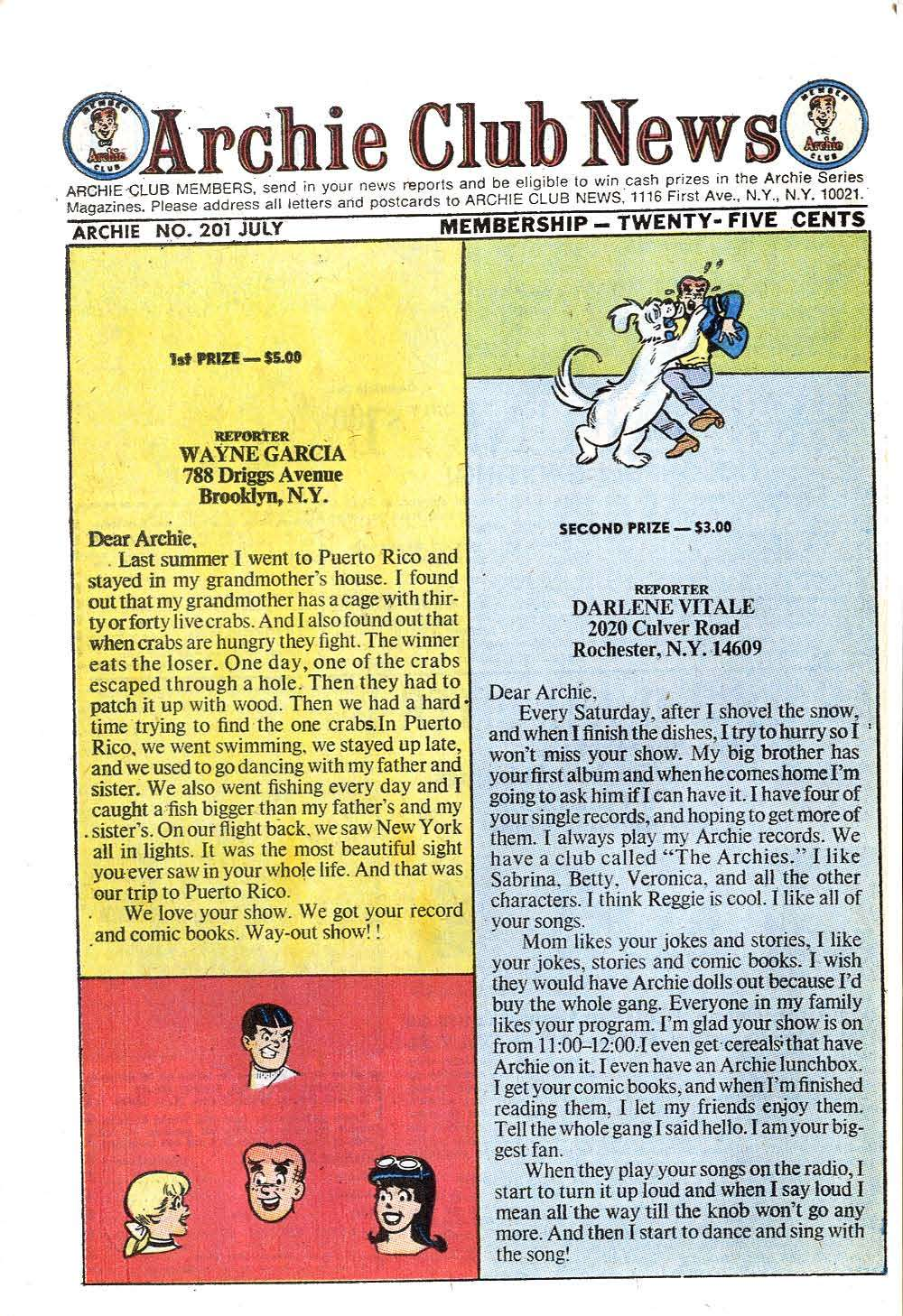 Read online Archie (1960) comic -  Issue #201 - 26