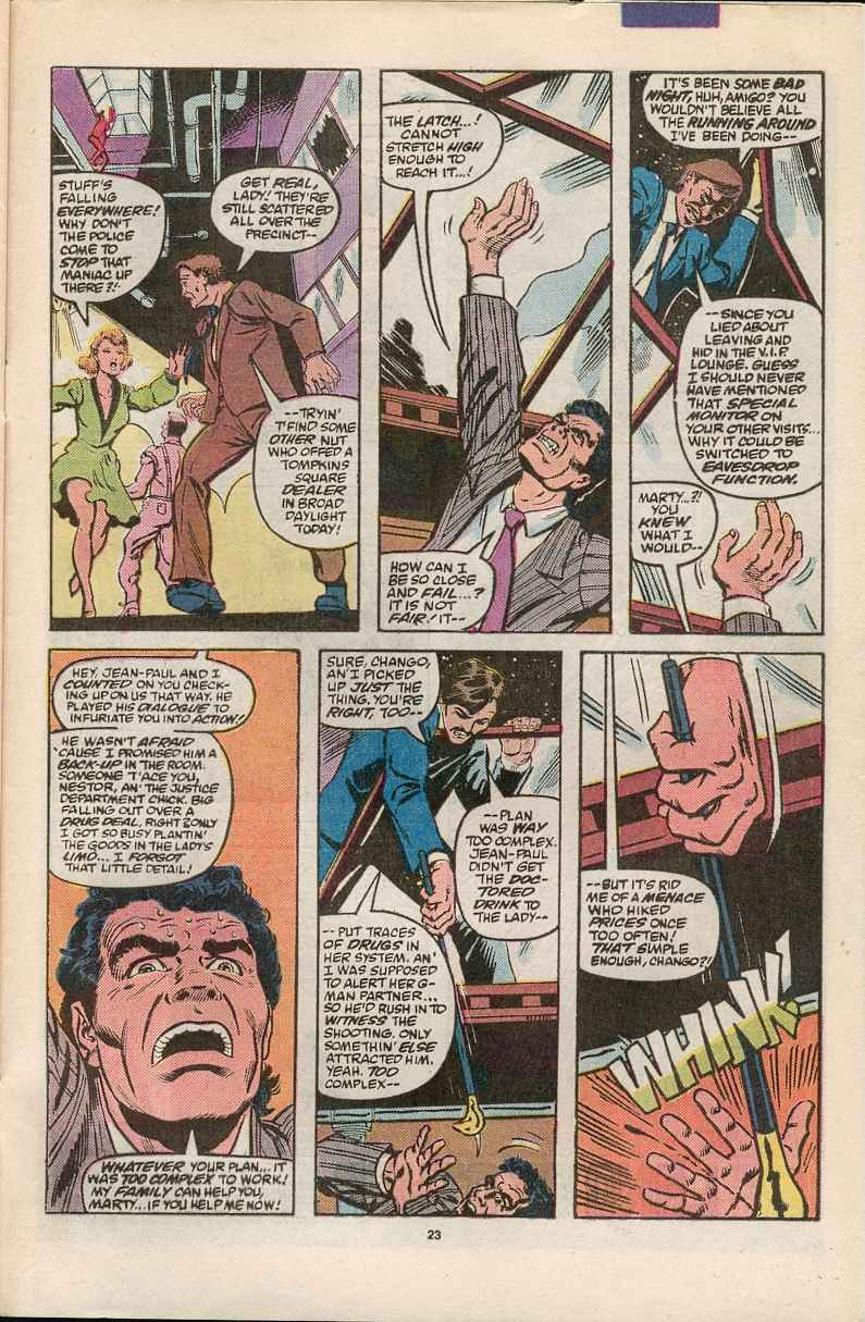 Read online Justice (1986) comic -  Issue #1 - 24