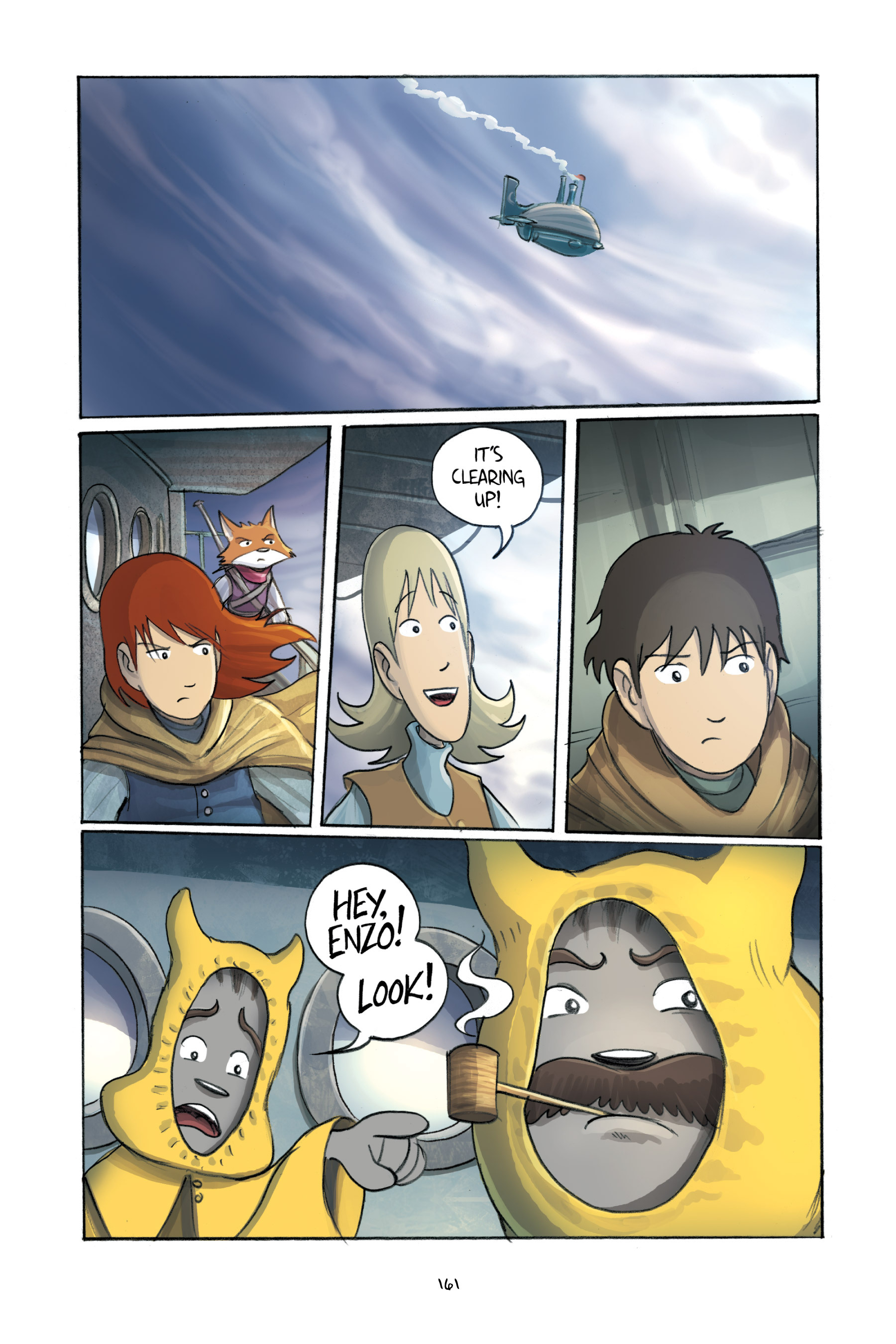 Read online Amulet comic -  Issue #3 - 157