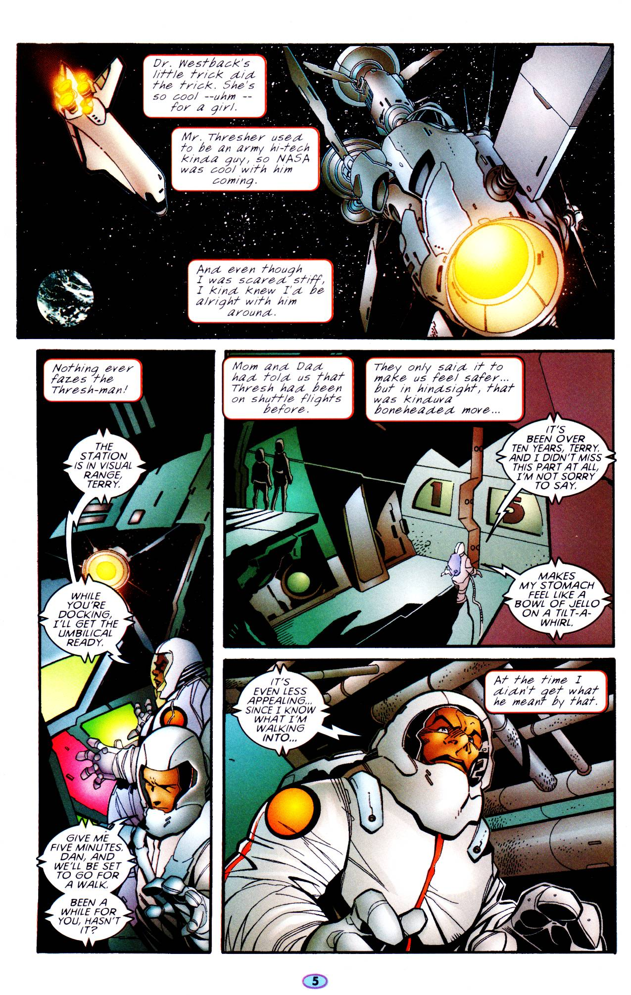 Read online Troublemakers comic -  Issue #6 - 6