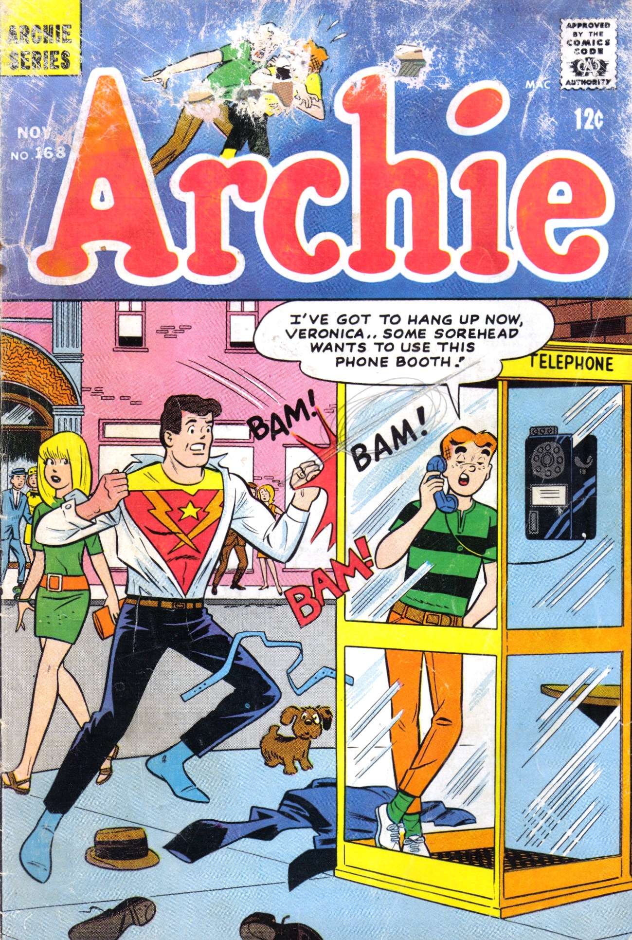Read online Archie (1960) comic -  Issue #168 - 1