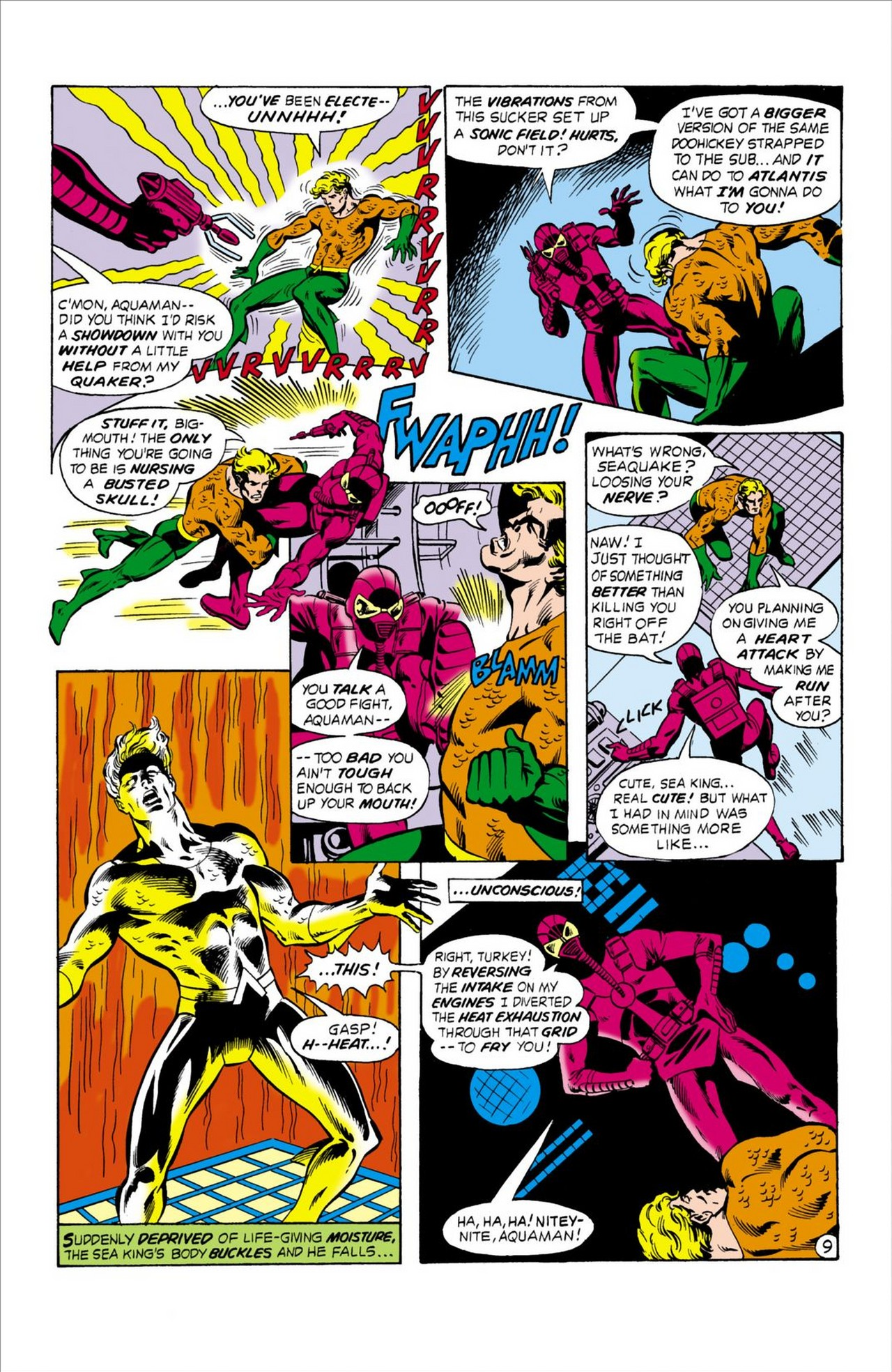 Read online Aquaman (1962) comic -  Issue #62 - 10