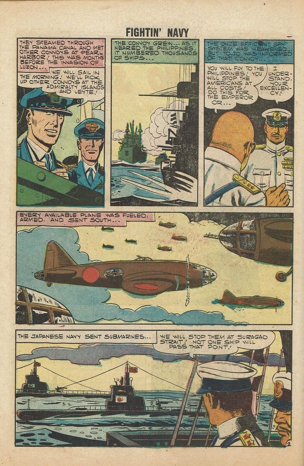 Read online Fightin' Navy comic -  Issue #81 - 10
