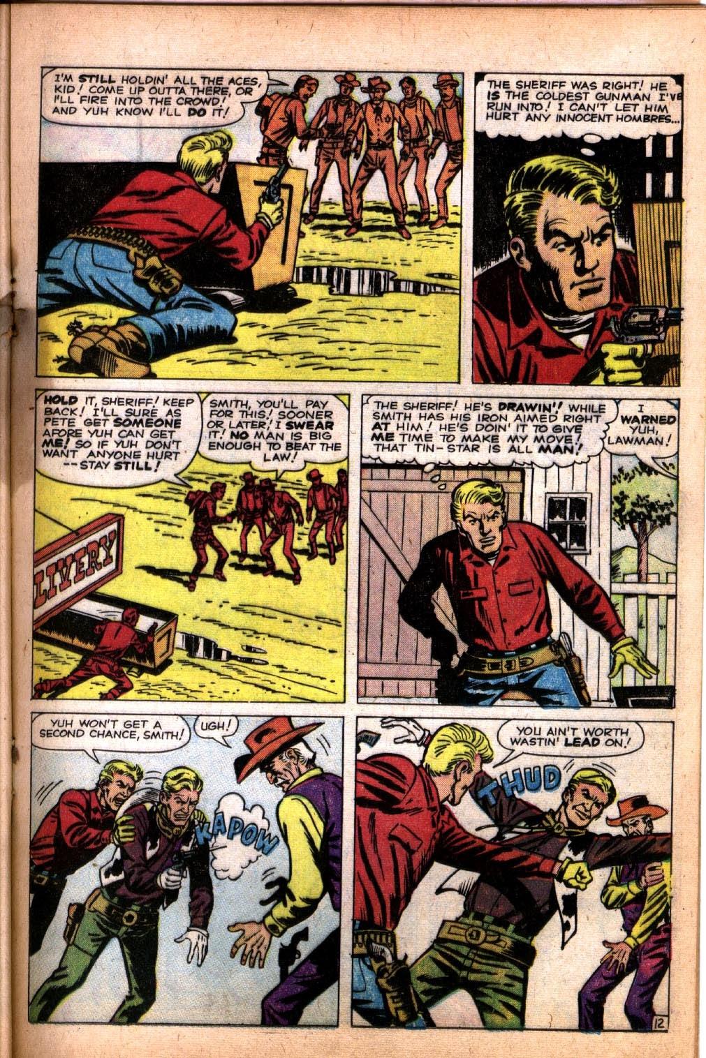 Gunsmoke Western issue 64 - Page 17