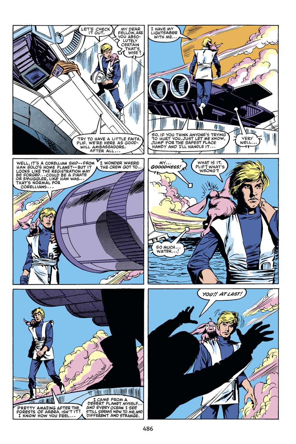 Read online Star Wars Omnibus comic -  Issue # Vol. 18.5 - 202