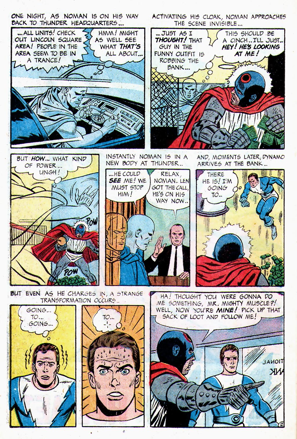 T.H.U.N.D.E.R. Agents (1965) issue 13 - Page 37