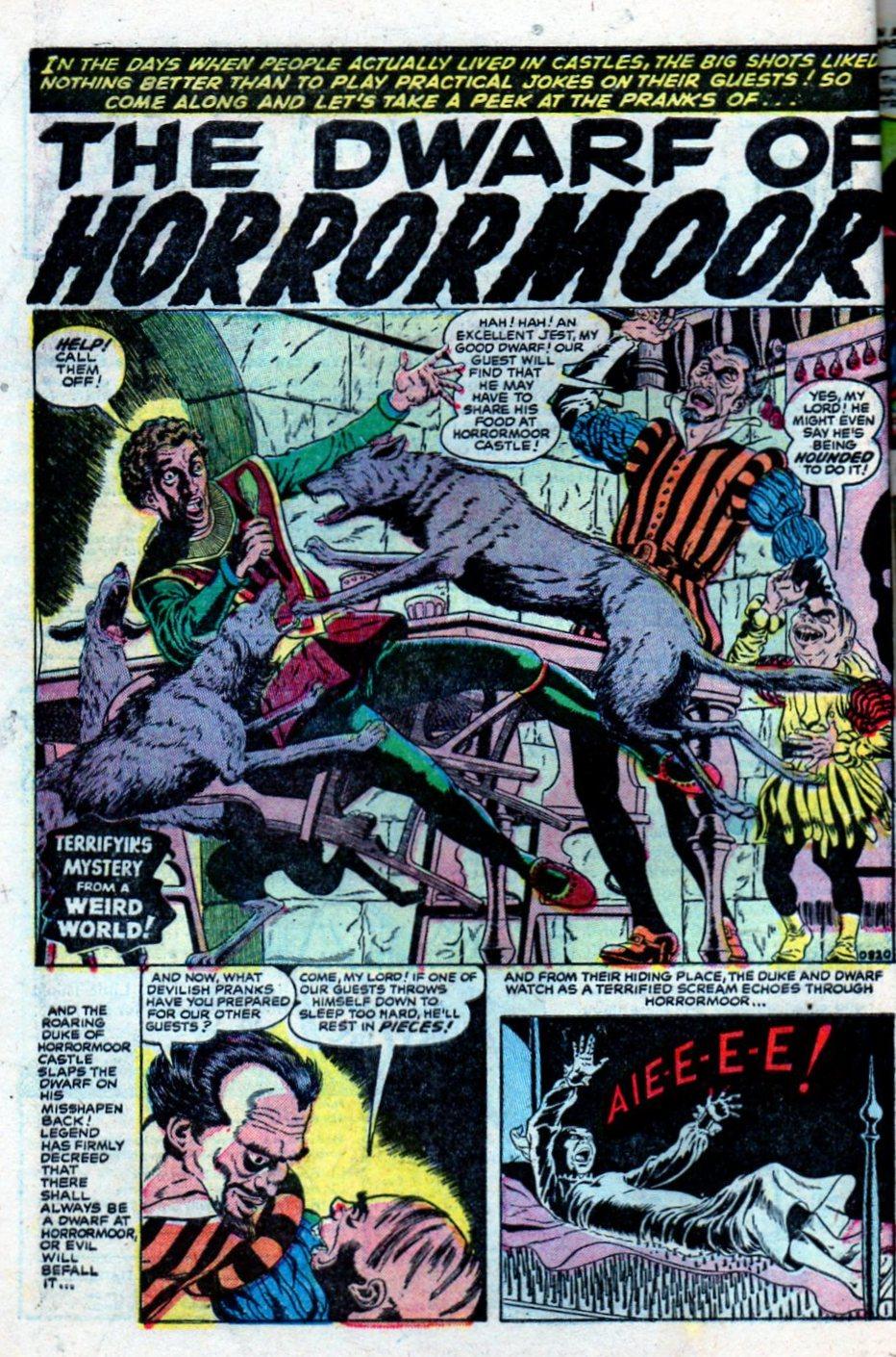 Read online Adventures into Weird Worlds comic -  Issue #27 - 11