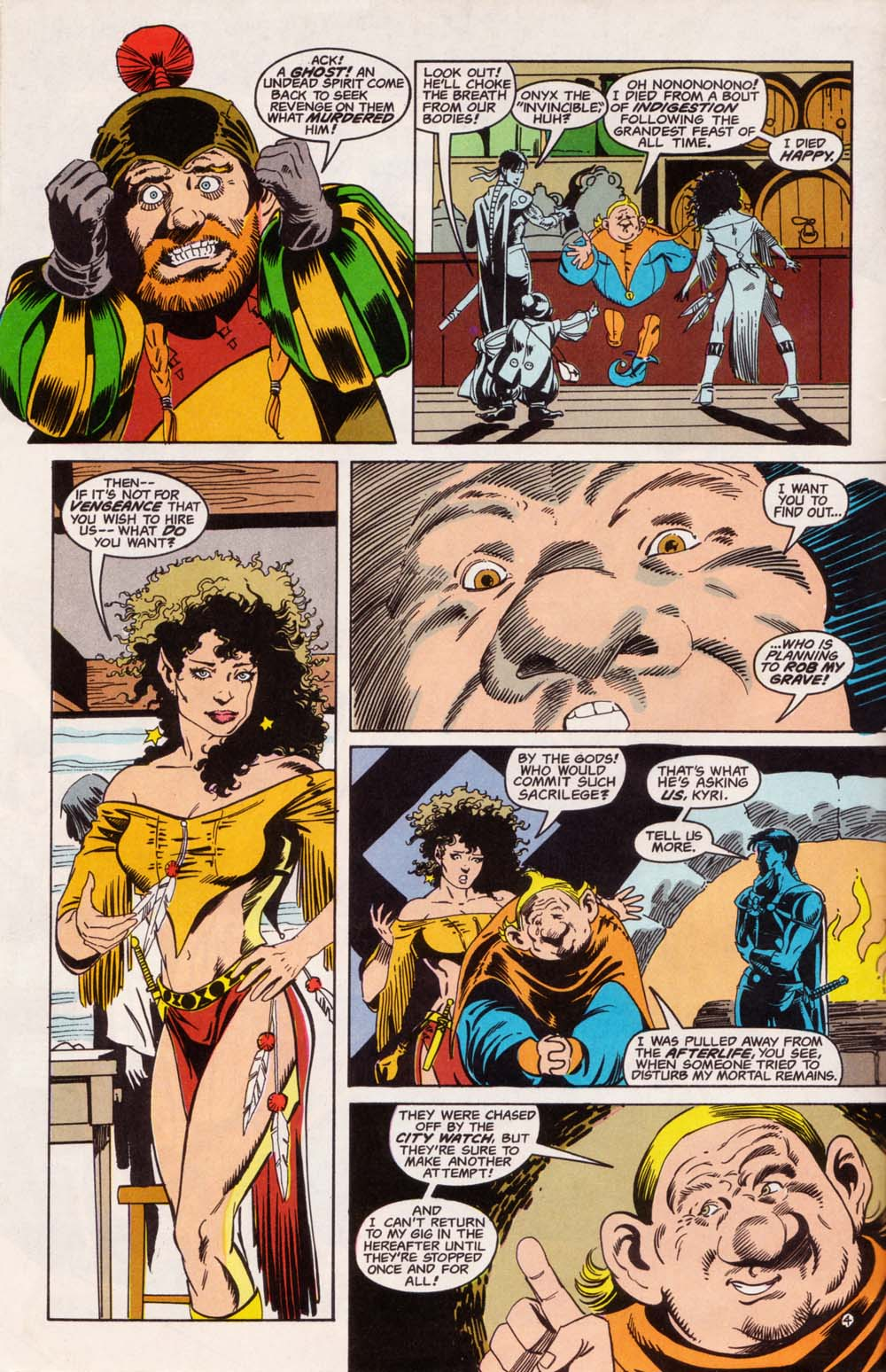 Read online Advanced Dungeons & Dragons comic -  Issue #5 - 5