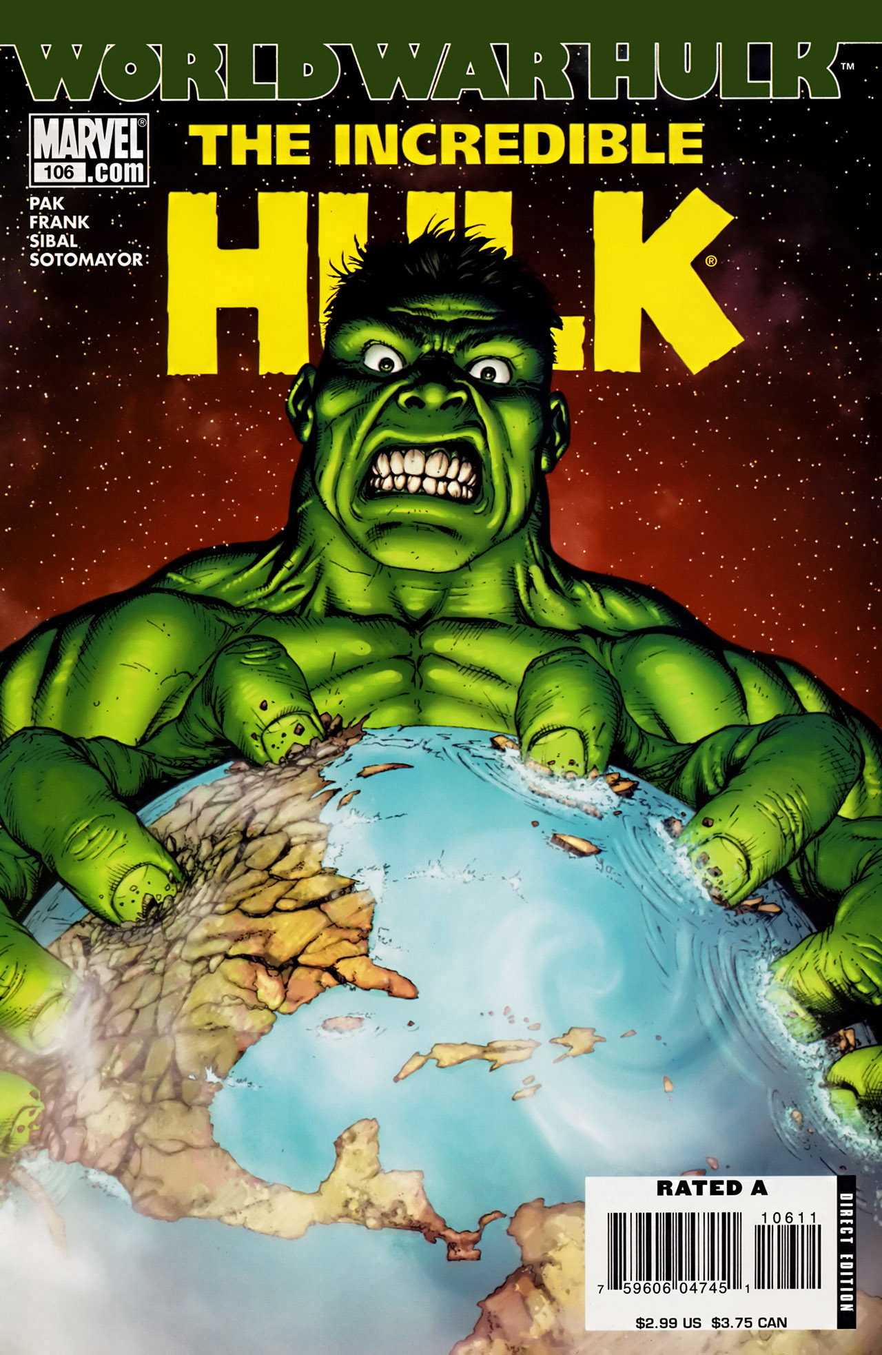 Read online The Incredible Hulk (2000) comic -  Issue #106 - 1