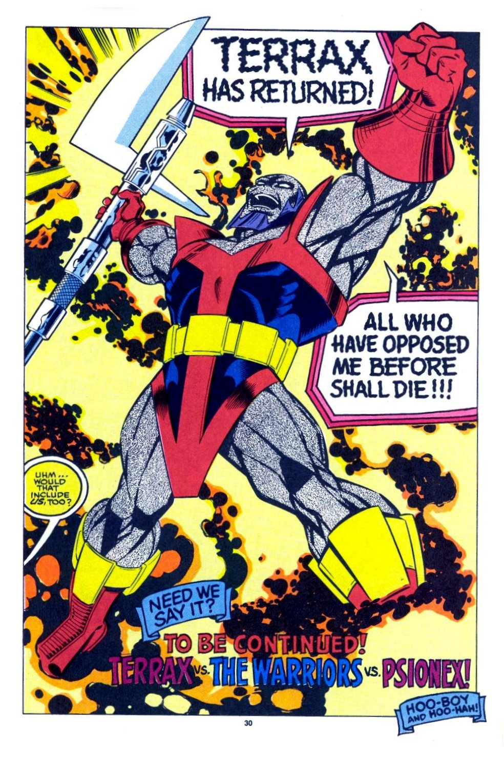 The New Warriors Issue #15 #19 - English 23