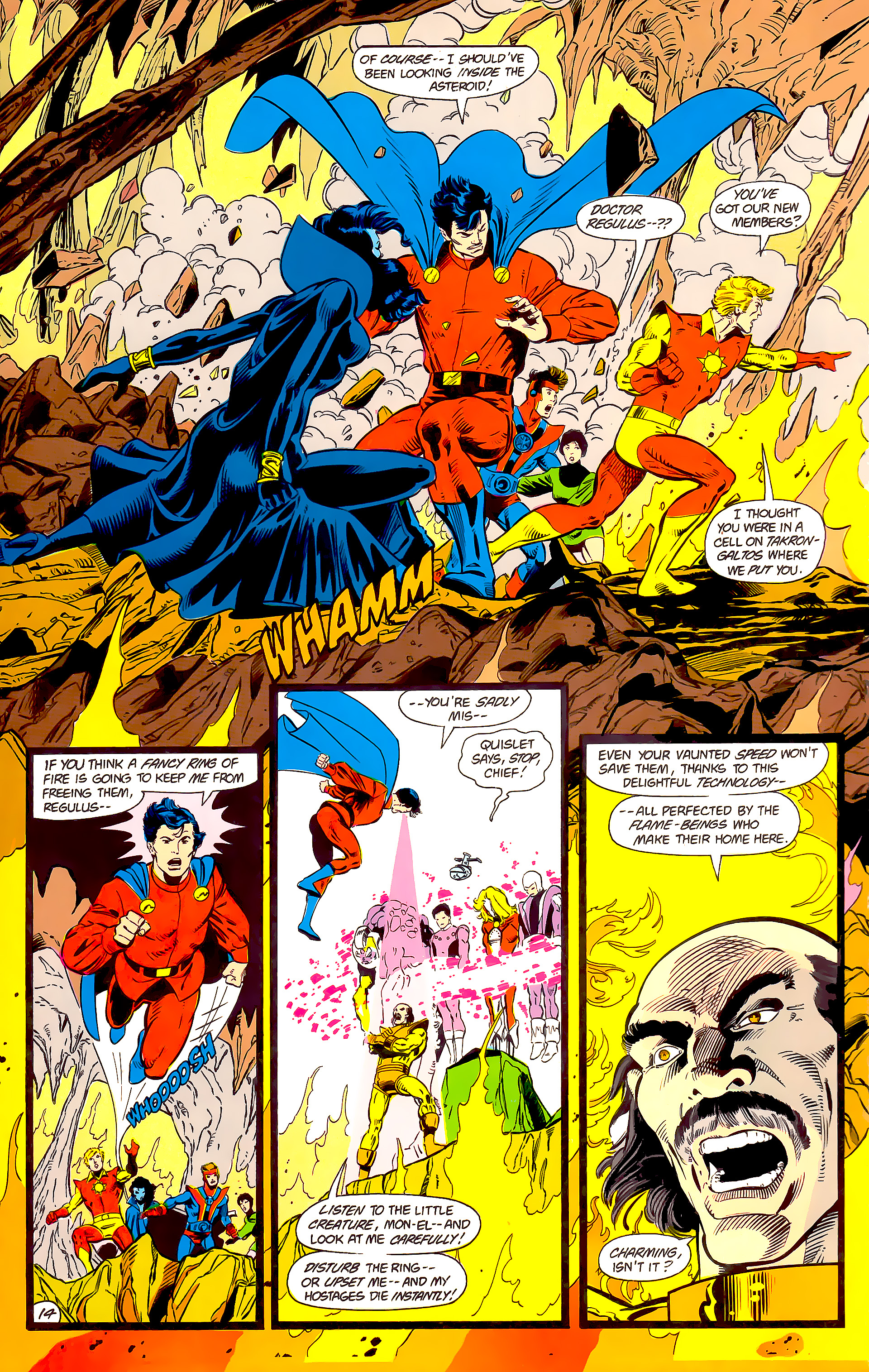 Legion of Super-Heroes (1984) 15 Page 15