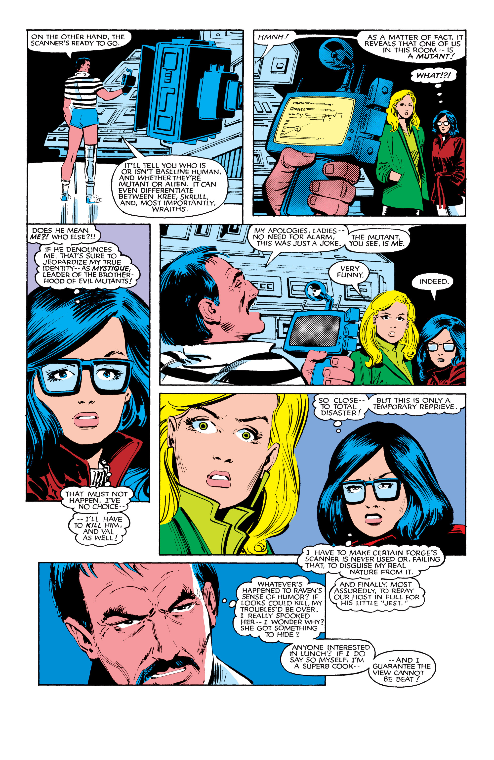 Read online Uncanny X-Men (1963) comic -  Issue #184 - 6