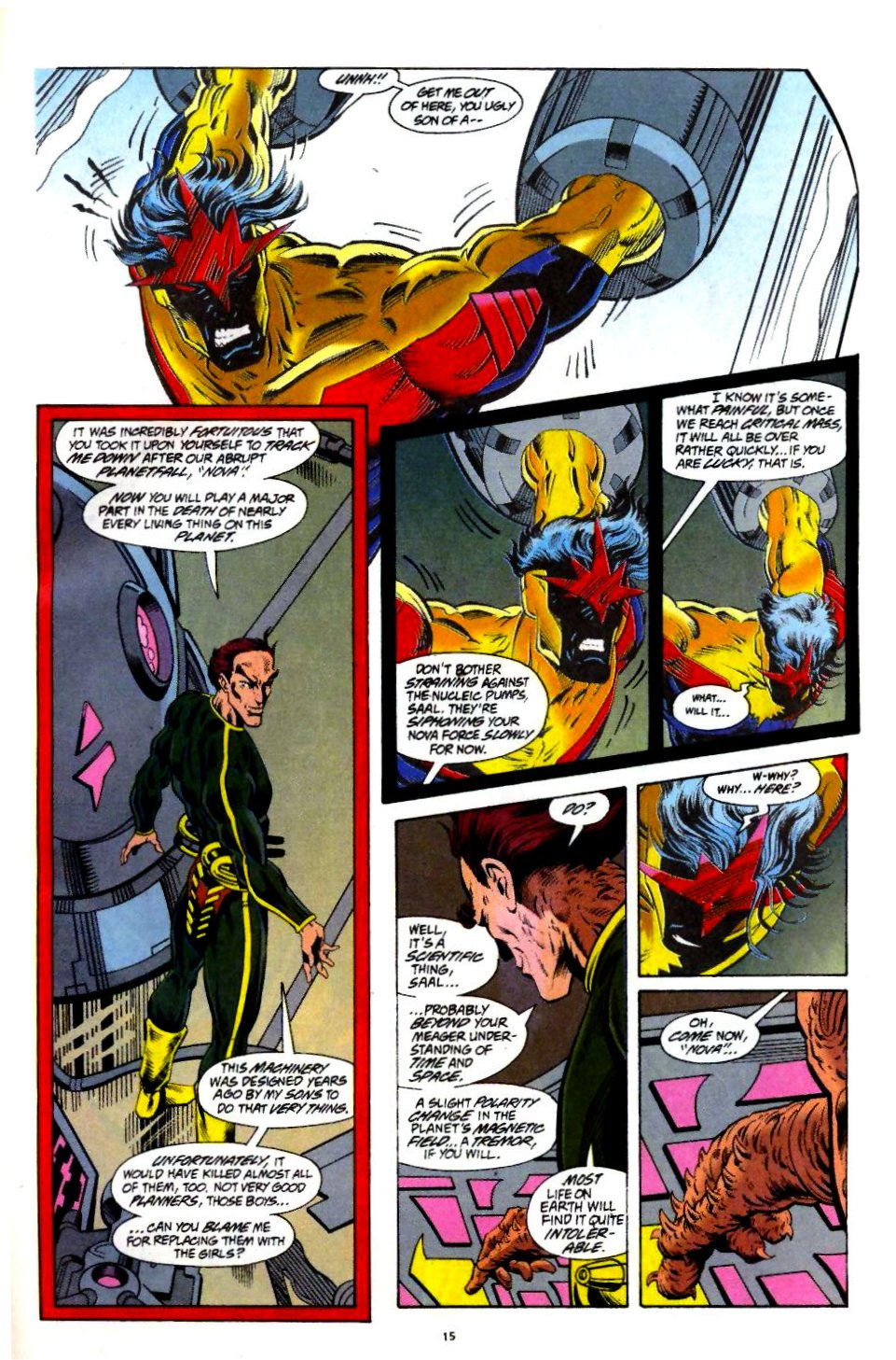 The New Warriors Issue #60 #64 - English 12