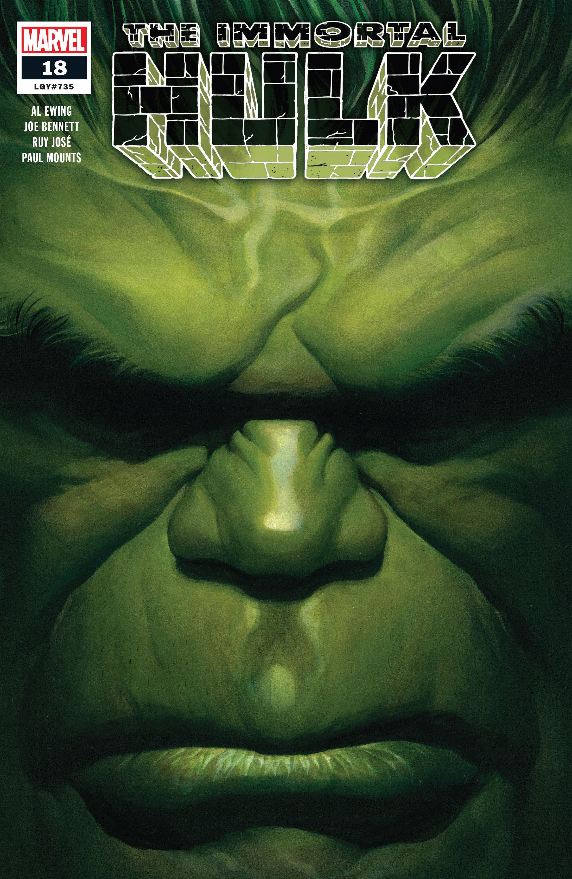 Immortal Hulk (2018) issue 18 - Page 1