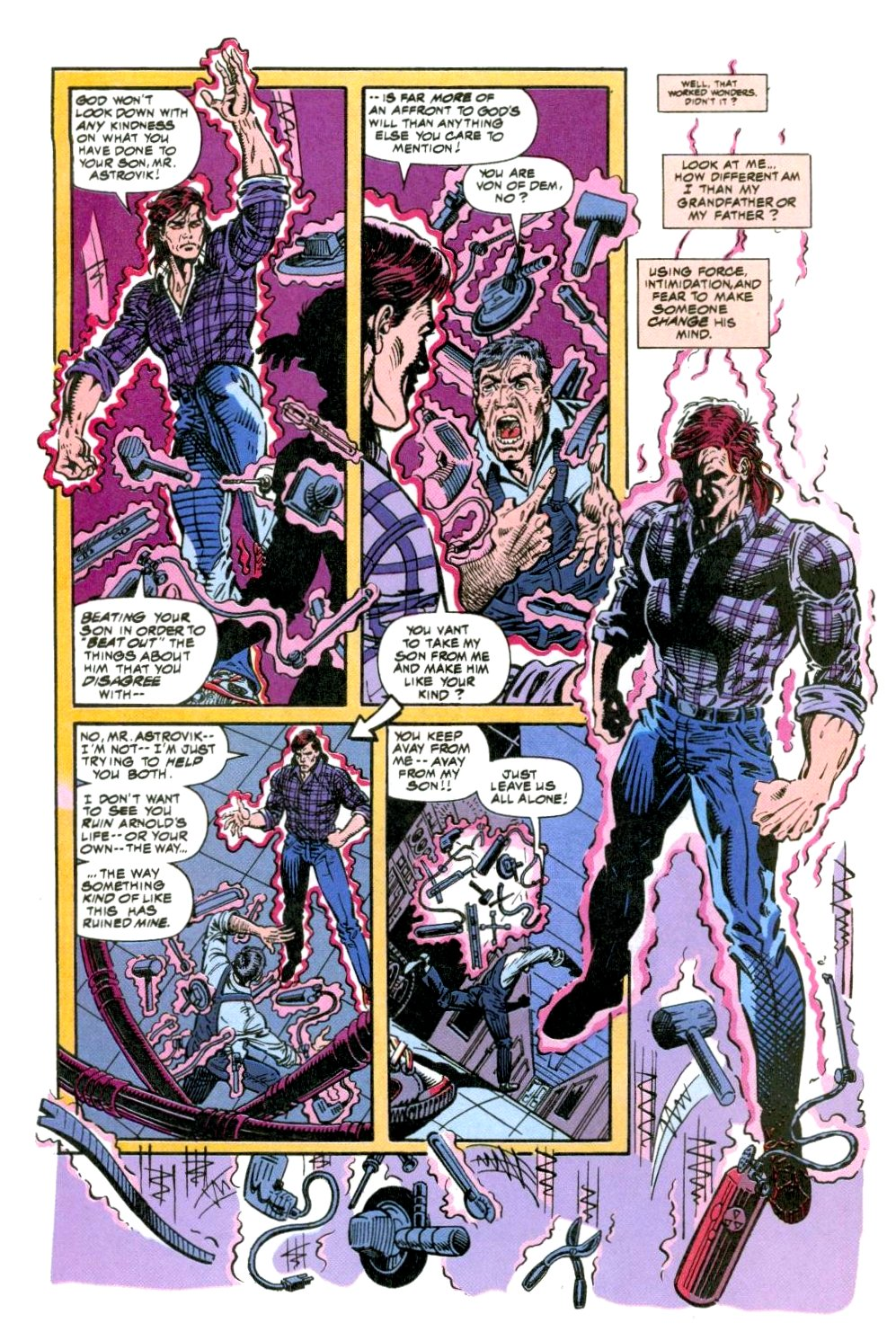The New Warriors Issue #49 #53 - English 9