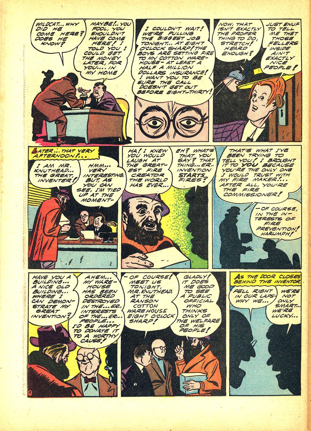 Read online Sensation (Mystery) Comics comic -  Issue #8 - 62