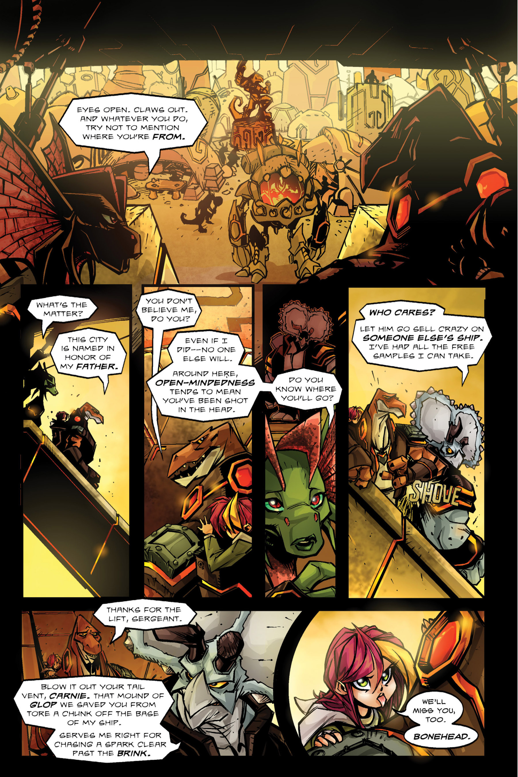 Read online Rexodus comic -  Issue # Full - 48