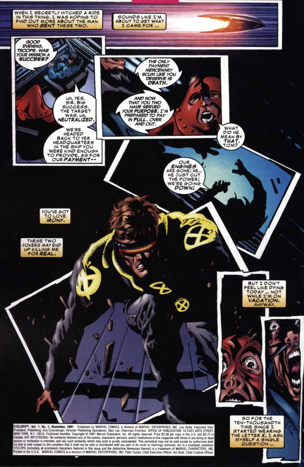 Read online Cyclops (2001) comic -  Issue #2 - 3