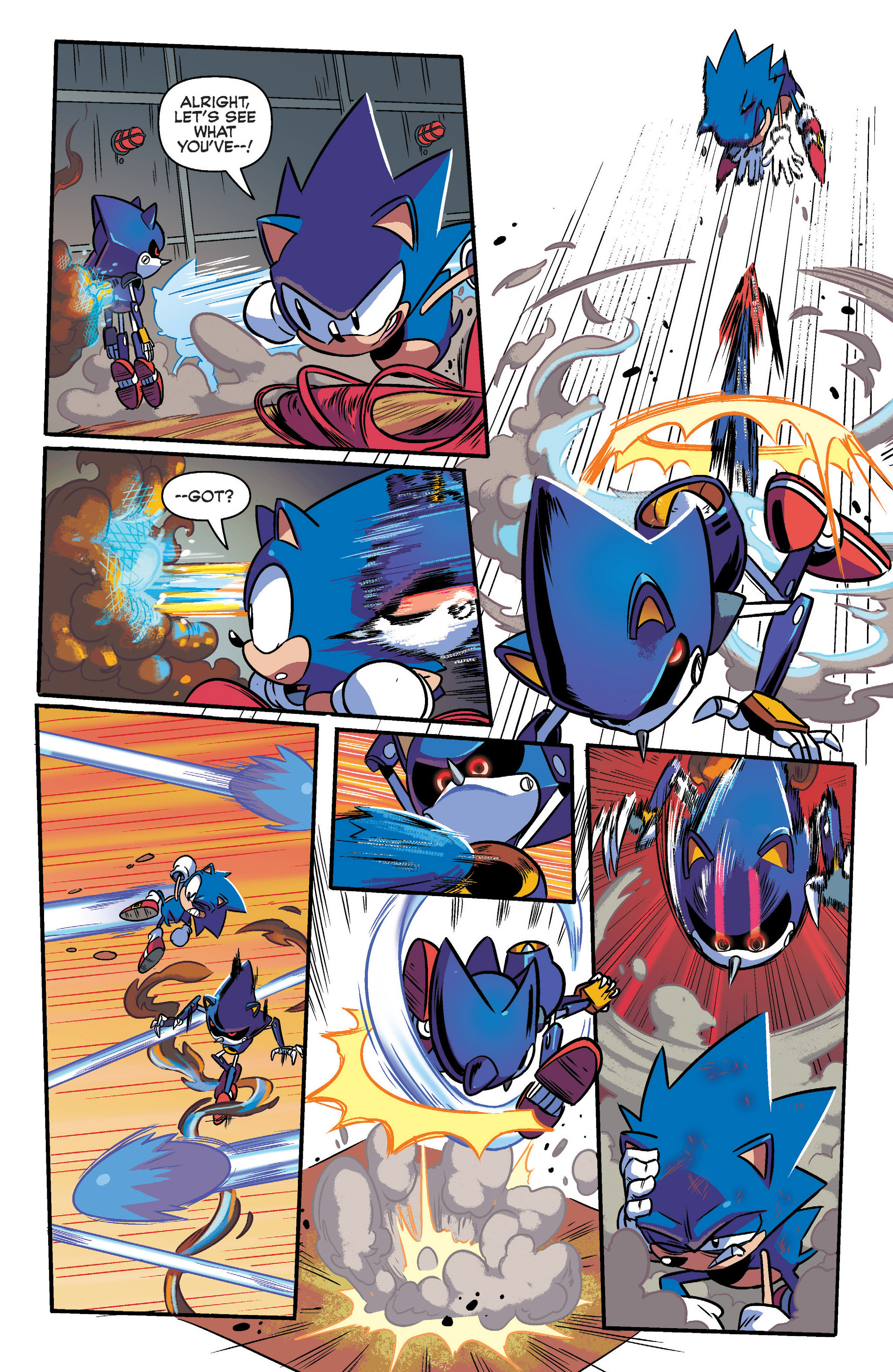 Read online Sonic: Mega Drive - The Next Level comic -  Issue # Full - 28