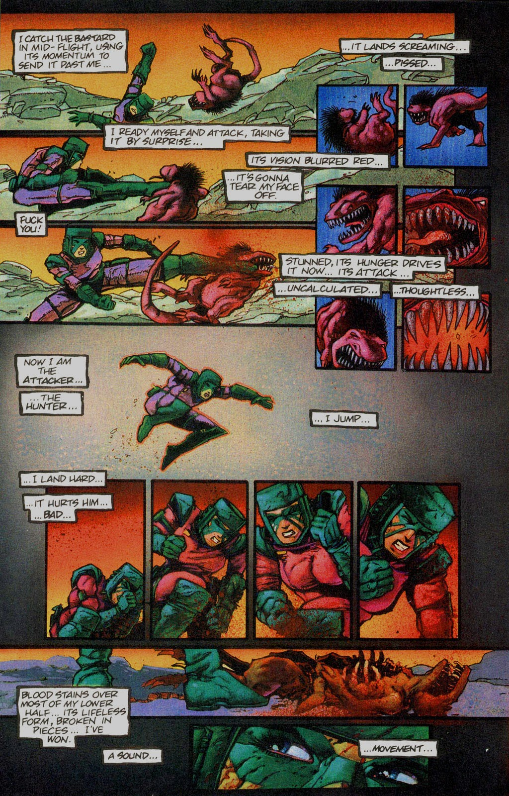Read online Melting Pot comic -  Issue #1 - 7