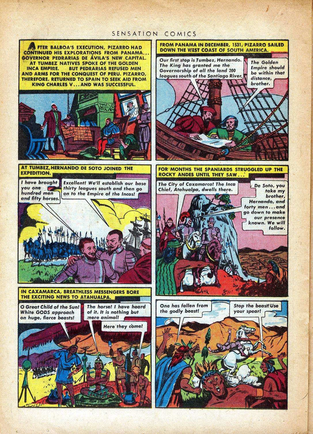 Read online Sensation (Mystery) Comics comic -  Issue #37 - 28