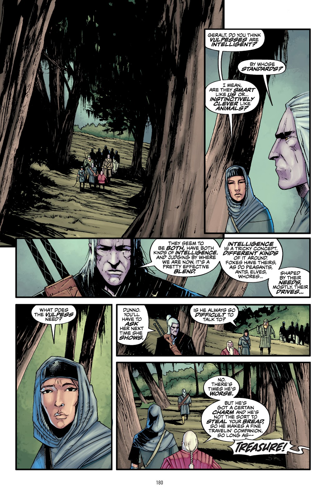 Read online The Witcher Omnibus comic -  Issue # TPB (Part 2) - 80