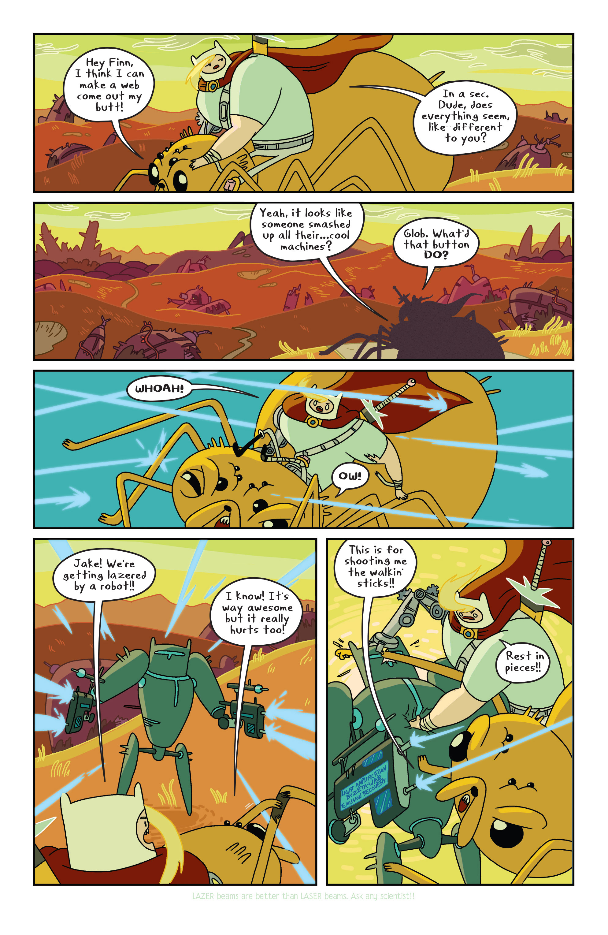Read online Adventure Time comic -  Issue #7 - 16