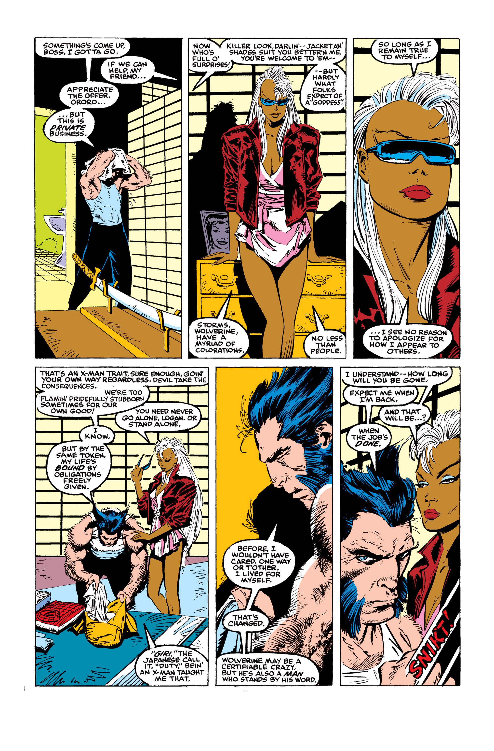 Read online Uncanny X-Men (1963) comic -  Issue #246 - 9