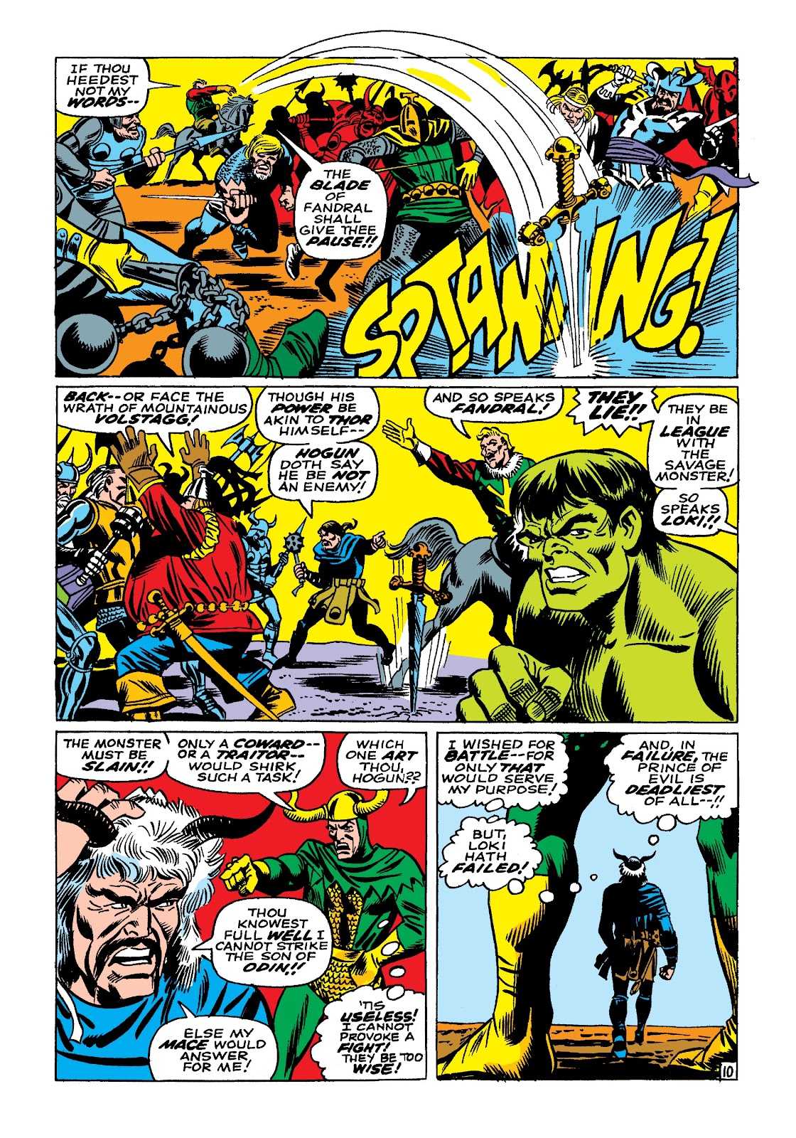 Read online Marvel Masterworks: The Incredible Hulk comic -  Issue # TPB 3 (Part 3) - 61