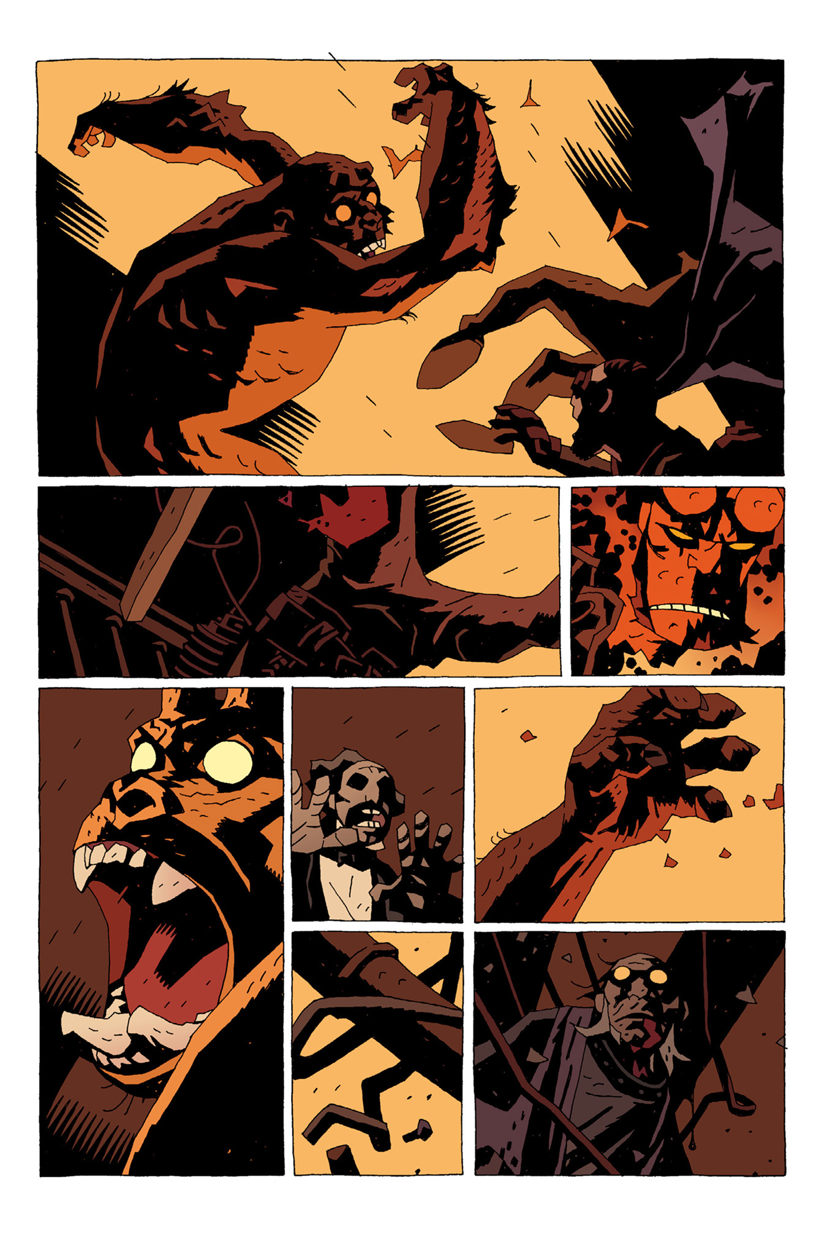 Read online Hellboy: The Troll Witch and Others comic -  Issue # TPB - 64