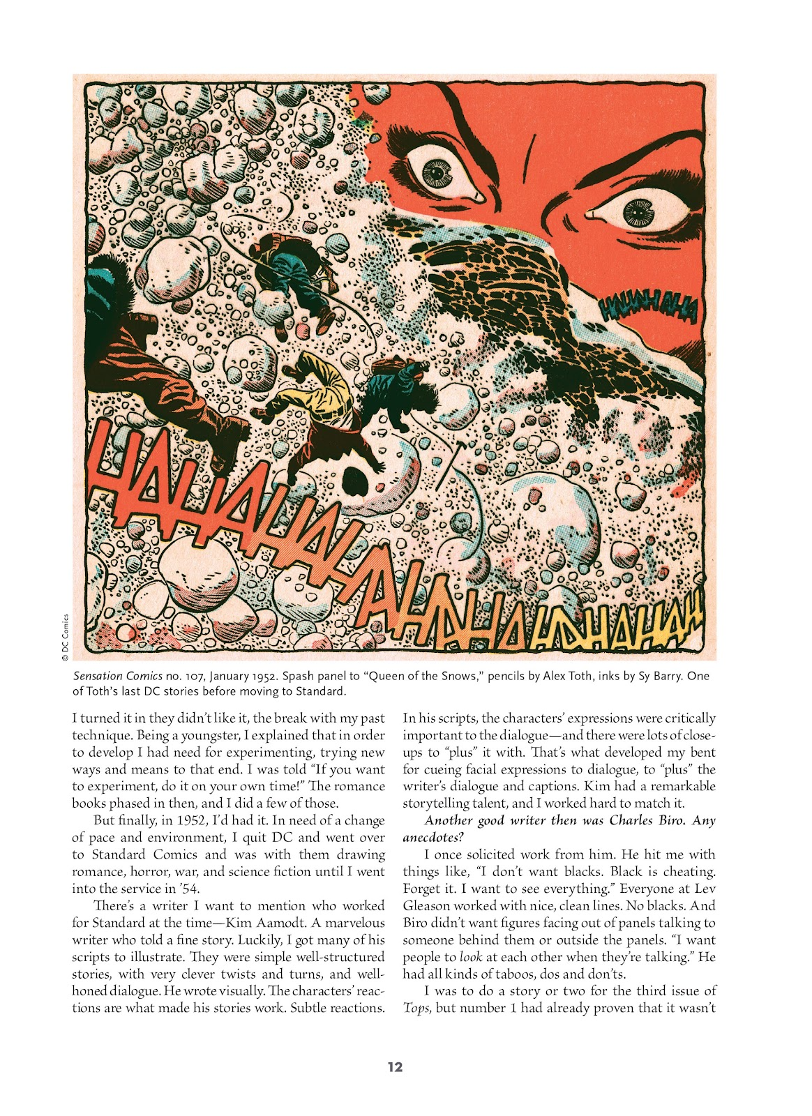 Read online Setting the Standard: Comics by Alex Toth 1952-1954 comic -  Issue # TPB (Part 1) - 11