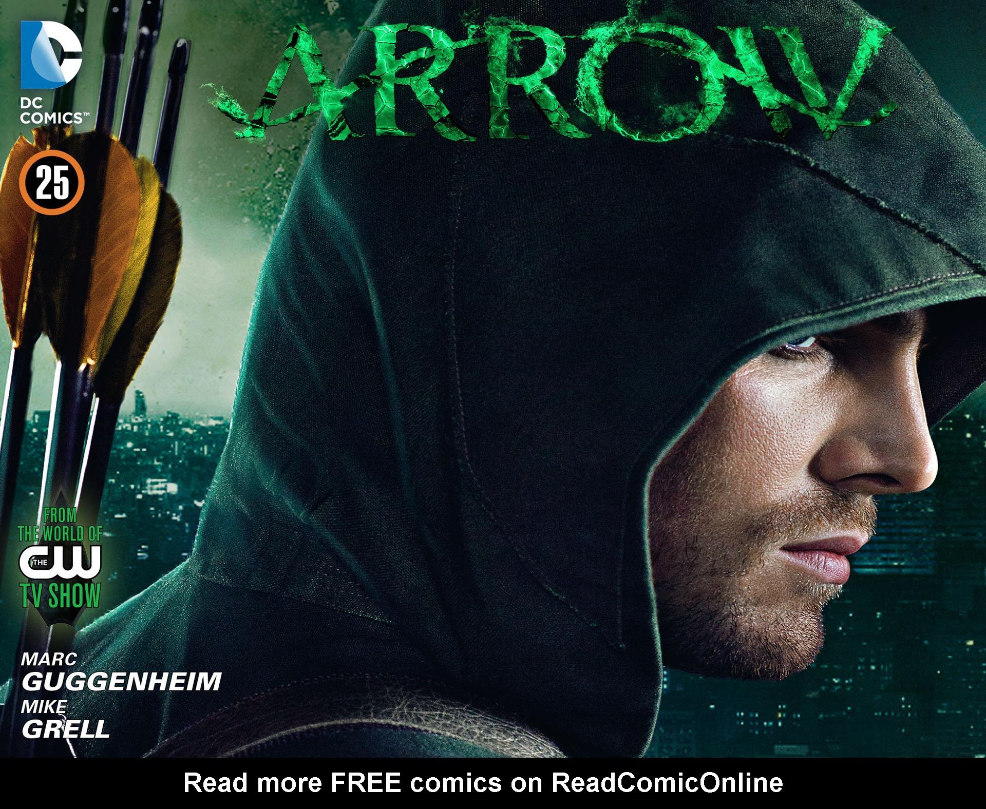 Read online Arrow [II] comic -  Issue #25 - 1