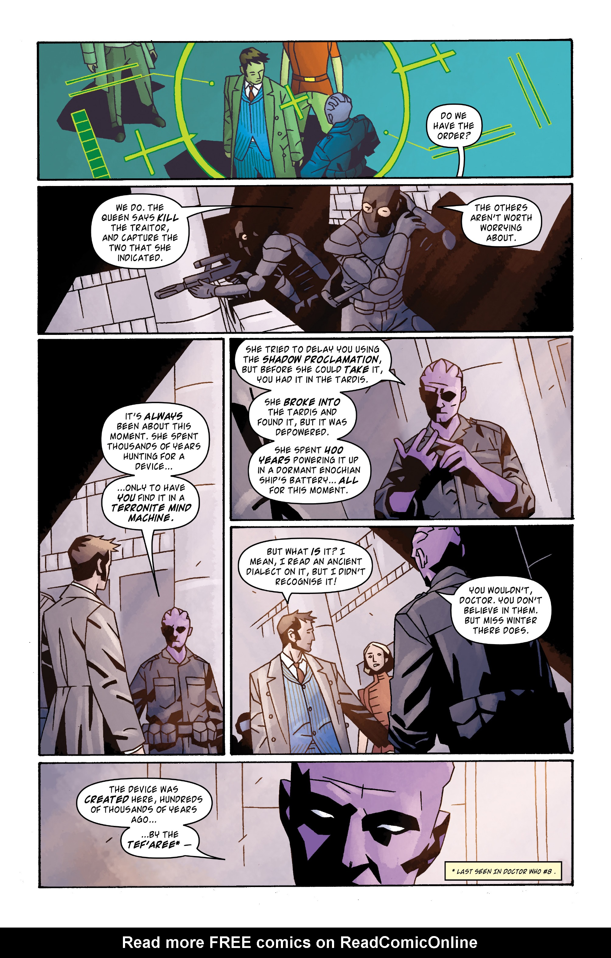 Read online Doctor Who: The Tenth Doctor Archives comic -  Issue #31 - 16