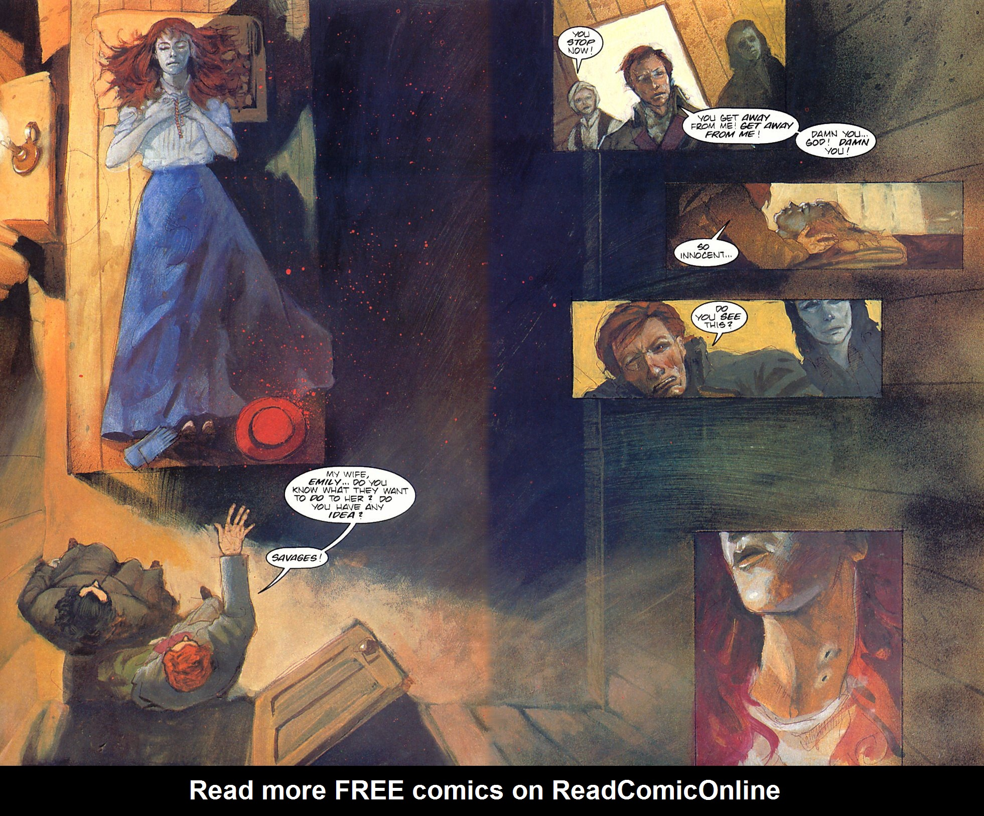 Read online Anne Rice's Interview with the Vampire comic -  Issue #6 - 26
