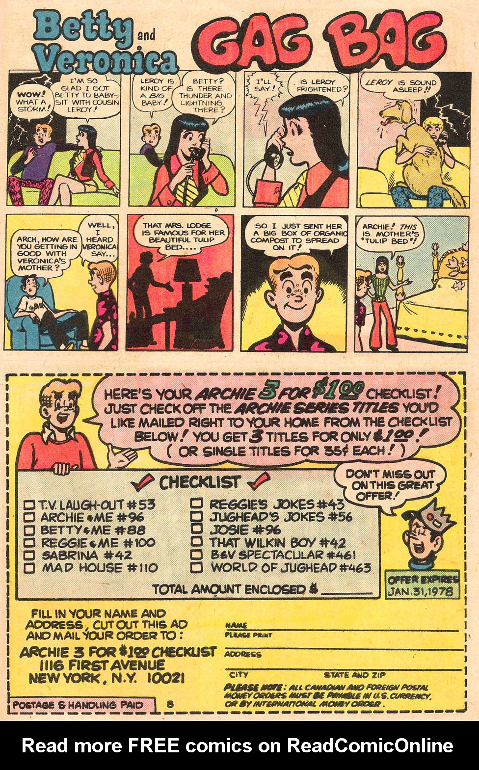 Read online Archie's Girls Betty and Veronica comic -  Issue #262 - 27