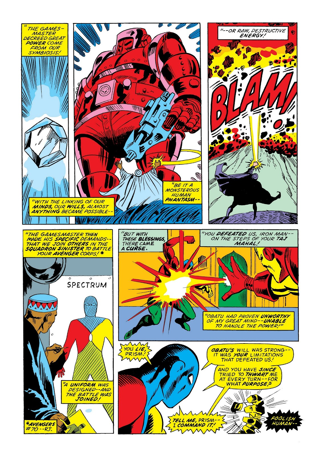 Read online Marvel Masterworks: The Invincible Iron Man comic -  Issue # TPB 9 (Part 3) - 47