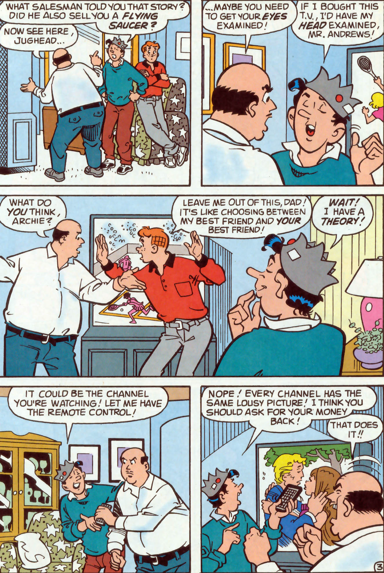 Read online Archie (1960) comic -  Issue #477 - 11