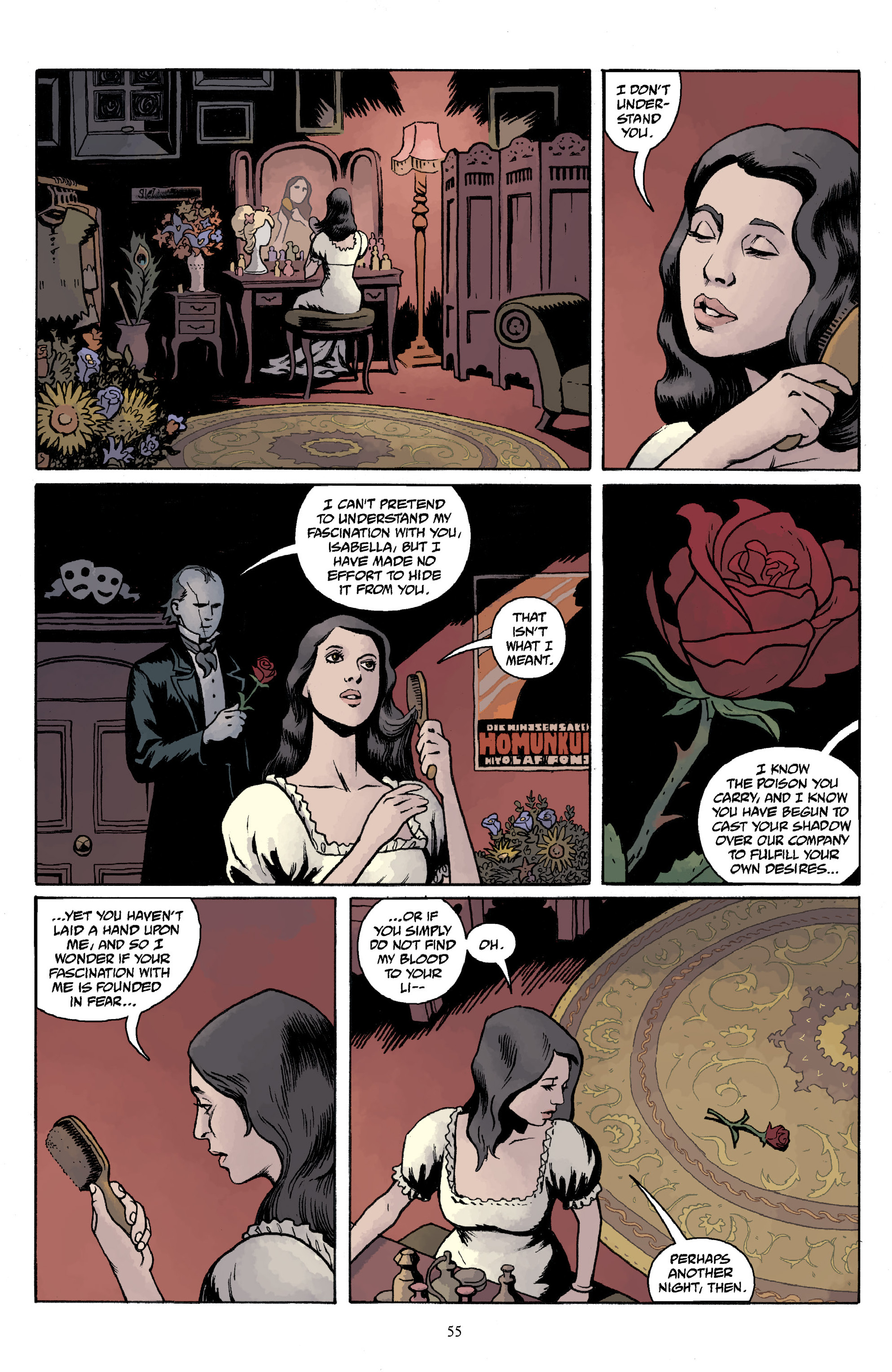 Read online Baltimore Volume 3: A Passing Stranger and Other Stories comic -  Issue # Full - 57