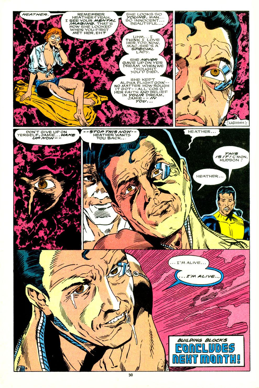 Read online Alpha Flight (1983) comic -  Issue #89 - 24