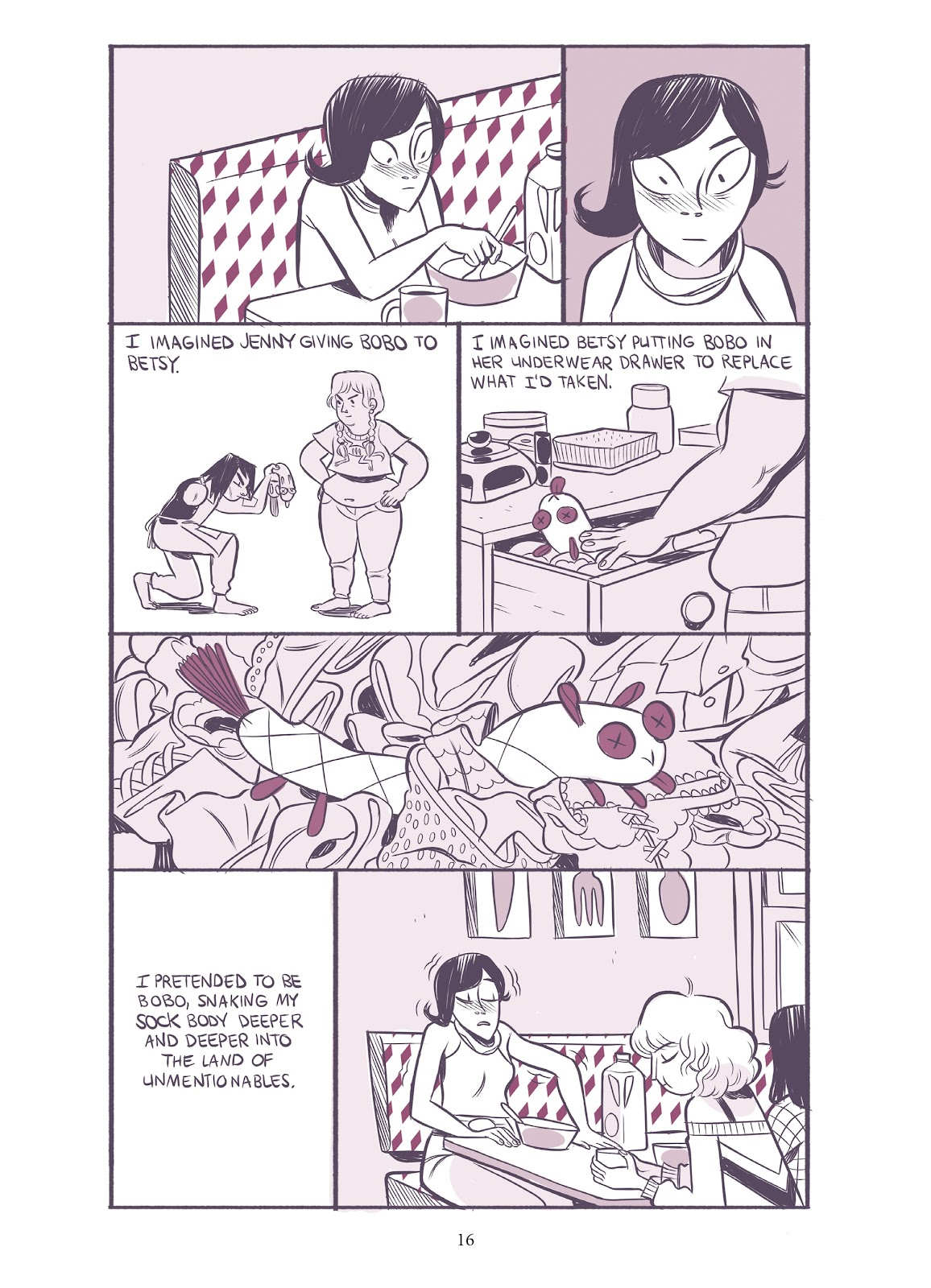 Read online Girl Town comic -  Issue # TPB (Part 1) - 17