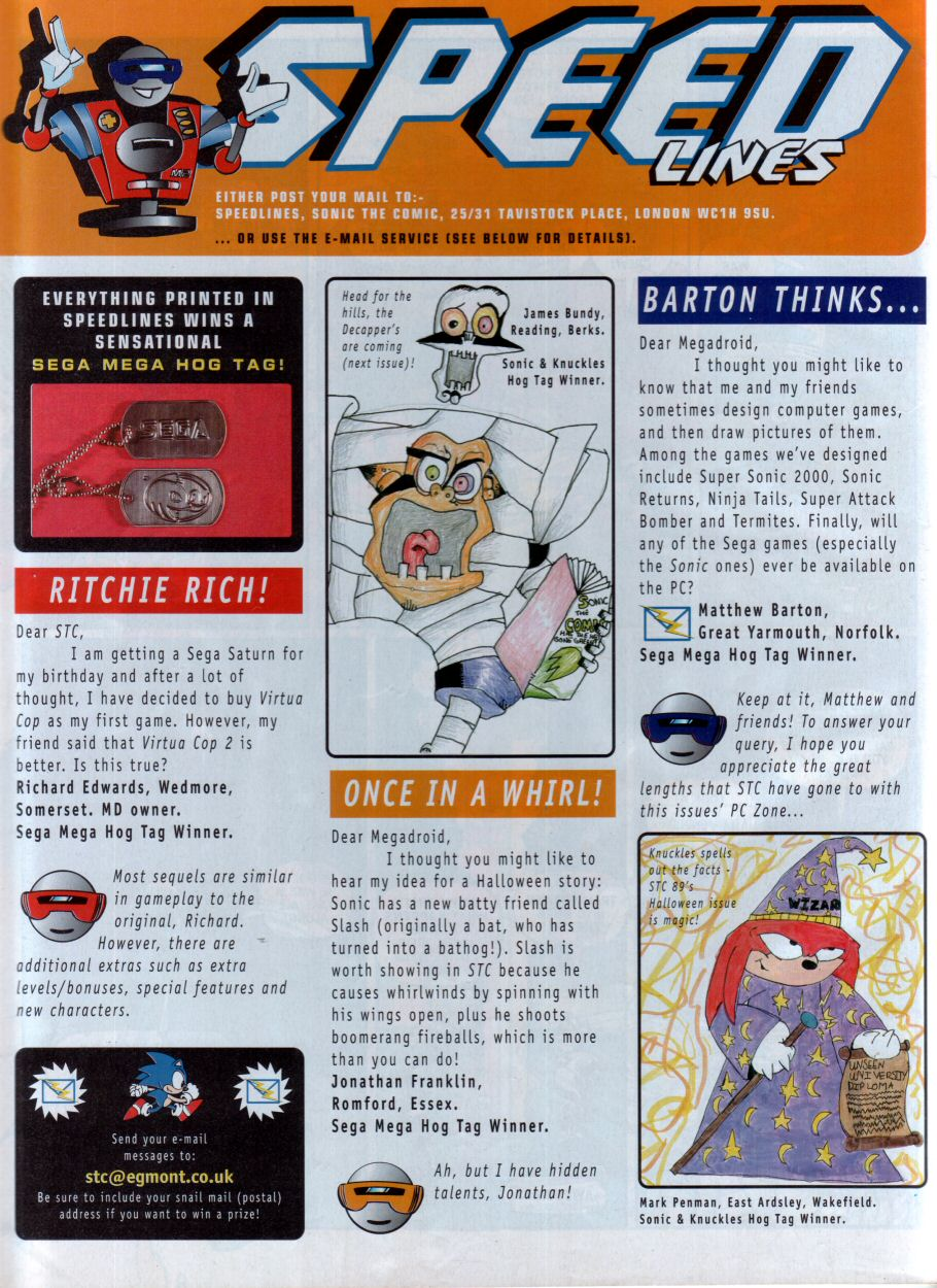 Read online Sonic the Comic comic -  Issue #88 - 32