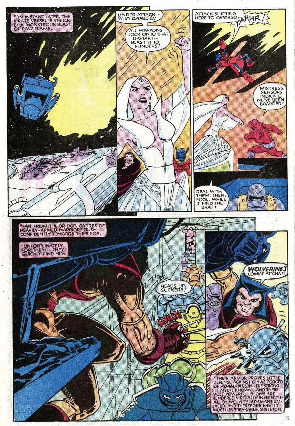 Read online Uncanny X-Men (1963) comic -  Issue # _Annual 8 - 11