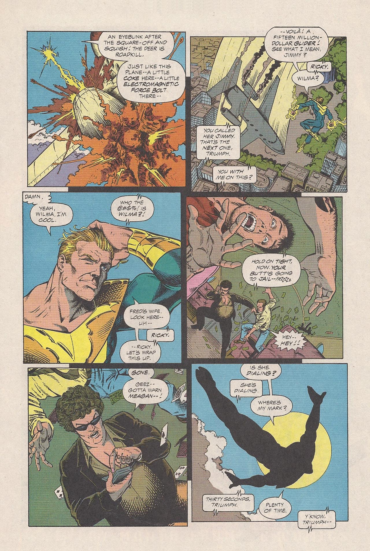 Read online Triumph comic -  Issue #2 - 11