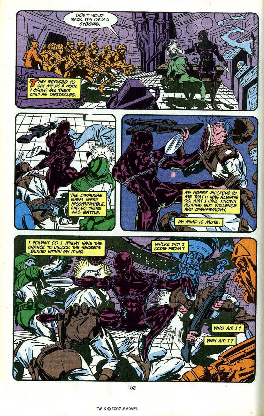 Read online Silver Surfer (1987) comic -  Issue # _Annual 4 - 54