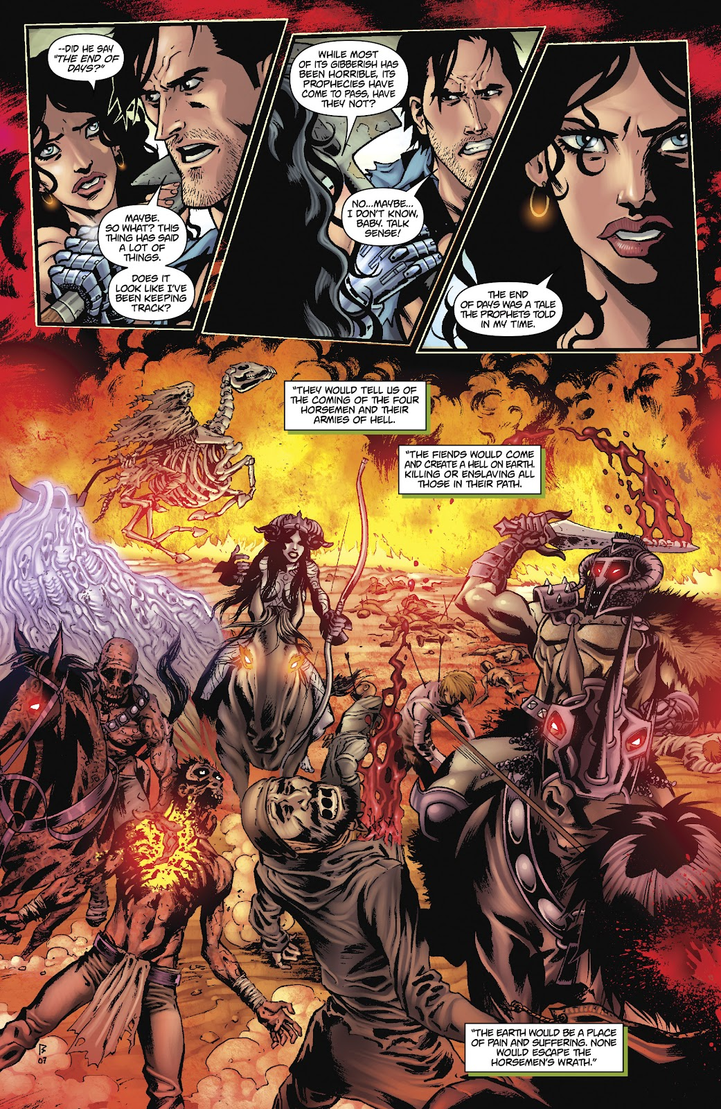 Army of Darkness: The Long Road Home issue TPB - Page 24