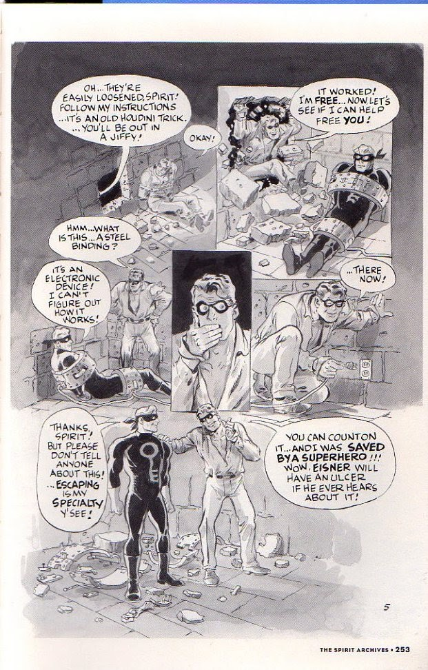 Read online Will Eisner's The Spirit Archives comic -  Issue # TPB 26 (Part 3) - 60